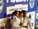 podio judo franchi vice campionessa d'italia