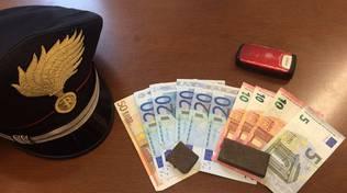 soldi e droga carabinieri