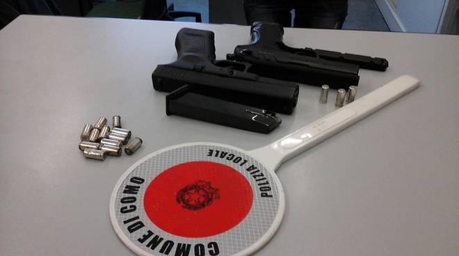 armi sequestrate polizia locale capodanno