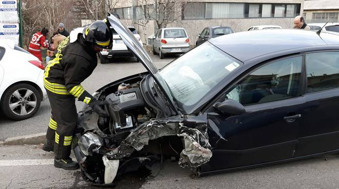 auto tavernerio incidente