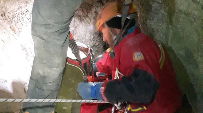 grotta Partigiano recupero