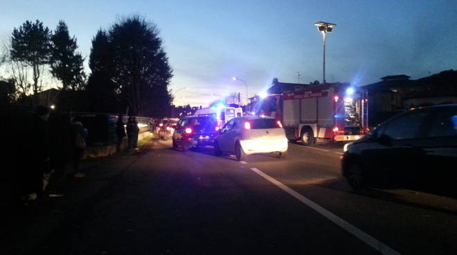 incidente viale Lombardia Albese