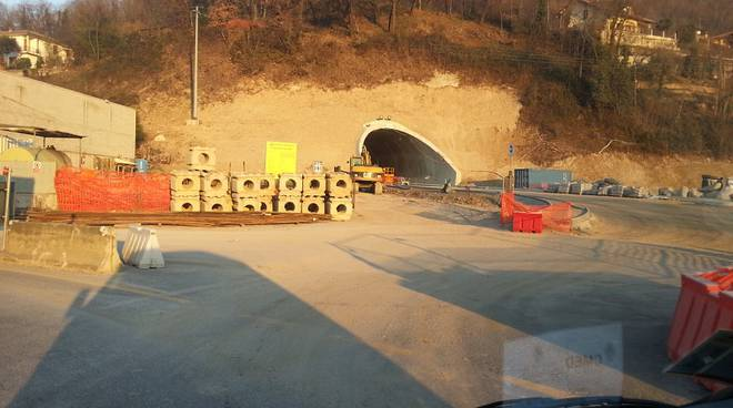 pusiano ingresso tunnel