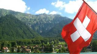 bandiera svizzera e ticino
