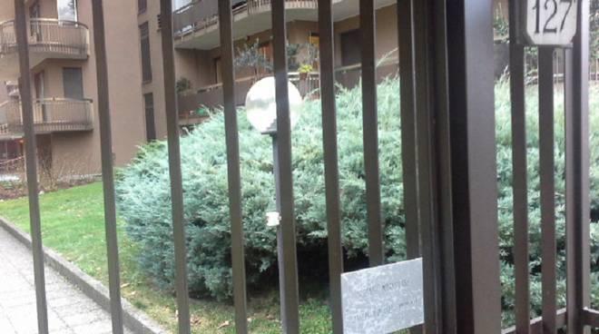 ingresso portone via borgovico