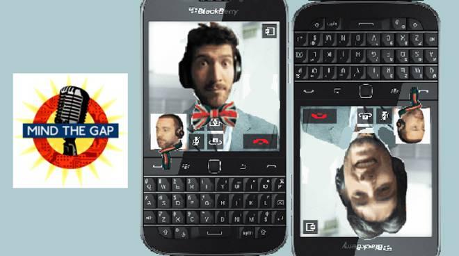 mind the gap blackberry