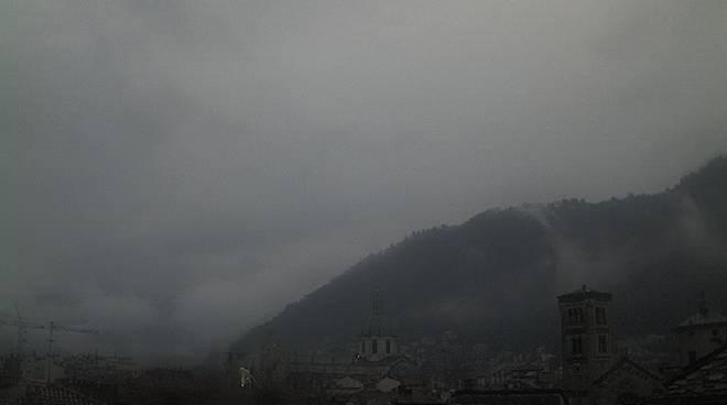 web como centro pioggia nuvole