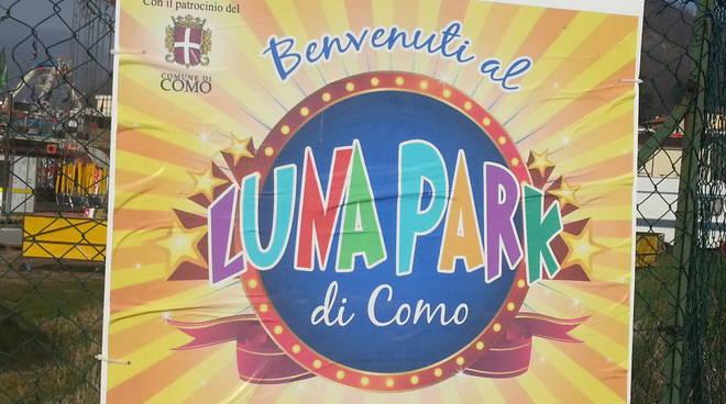 cartello luna park como 2016