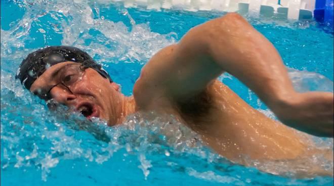 dolfin in azione piscina