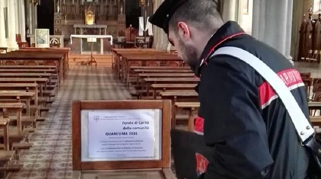 offerte fedeli chiesa carabiniere