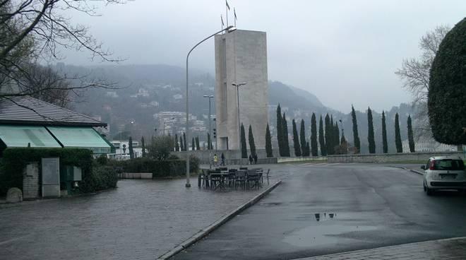 tempio voltiano acqua e nuvole