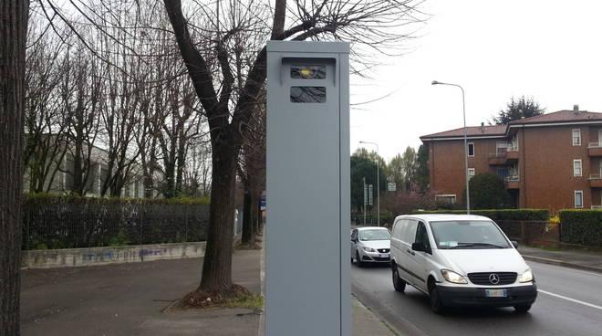 un semavelox installato a cantù