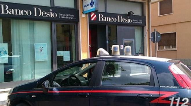 cirimido rapina banca carabinieri