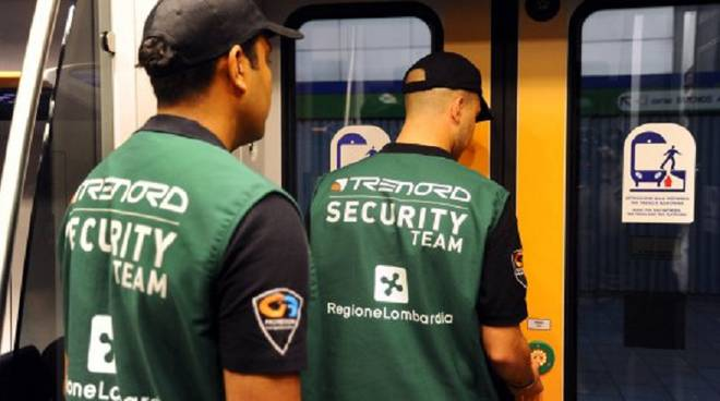 guardie su treni nord