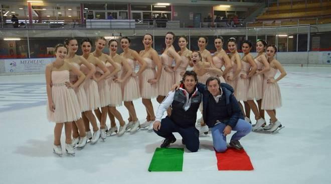 olimpia como sul ghiaccio biasca