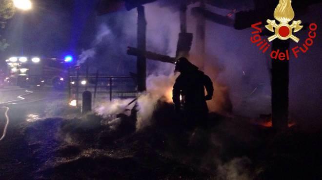 spegnimento incendio pompieri