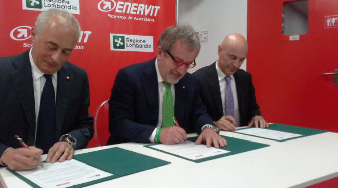 firma accordo enervit regione