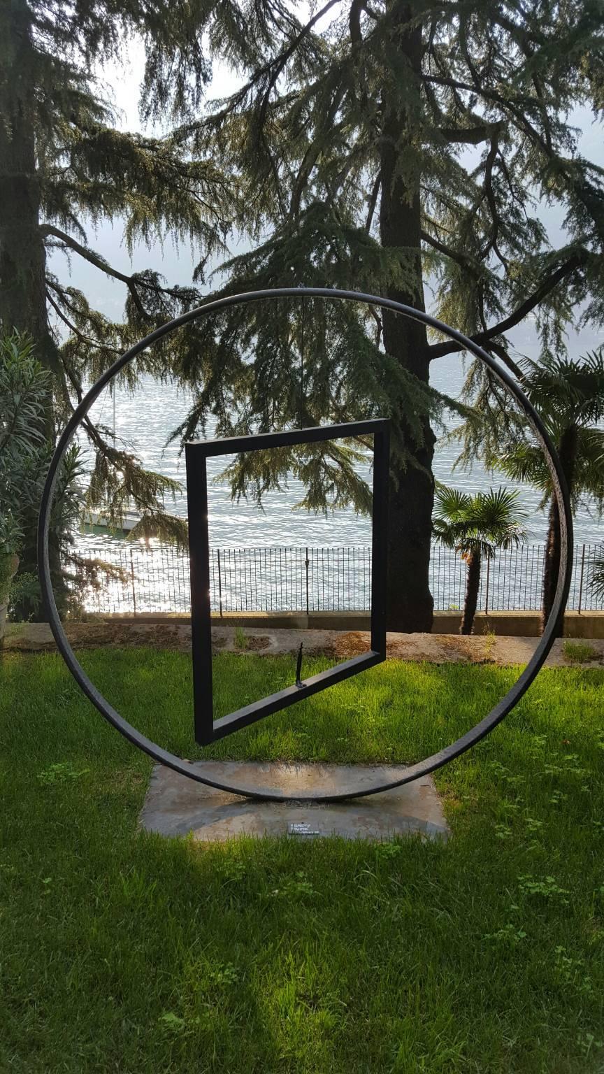 Nathalie Decoster sculture lago di como