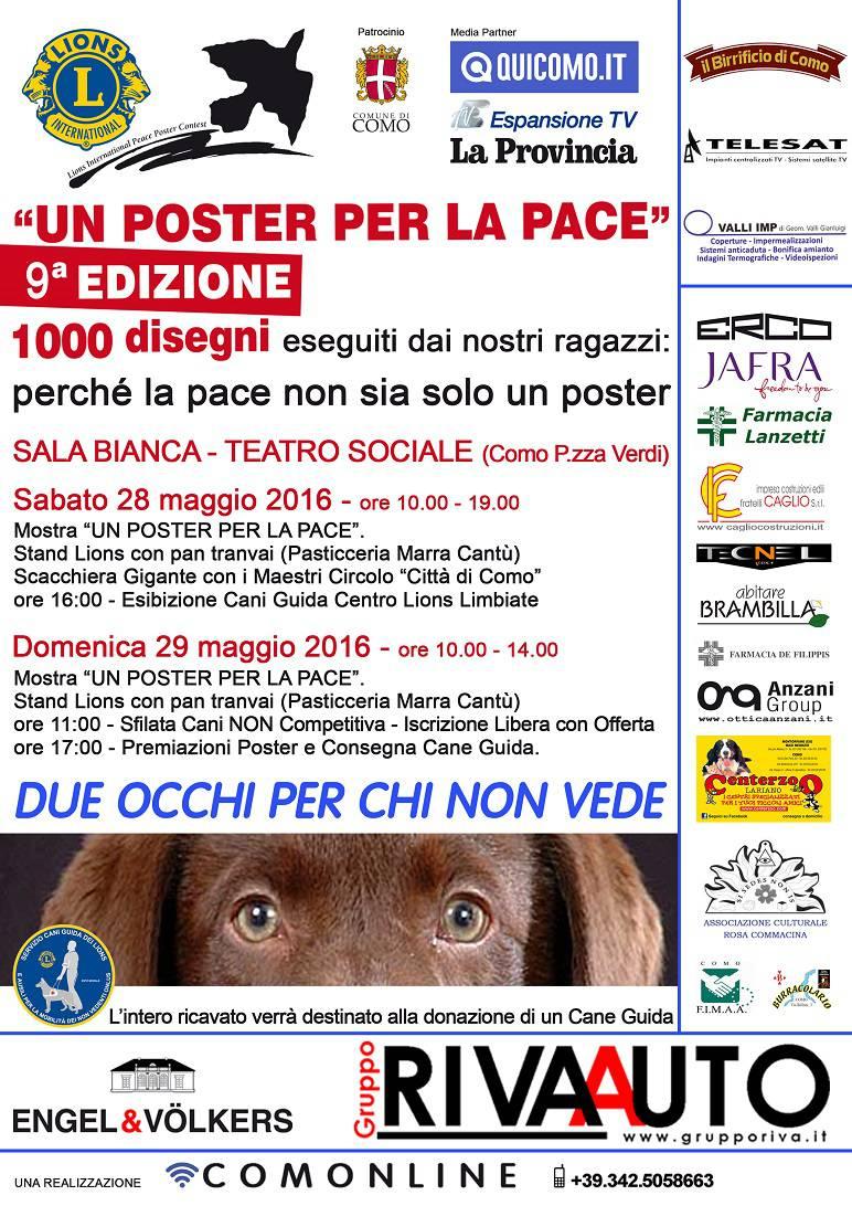 poster per la pace