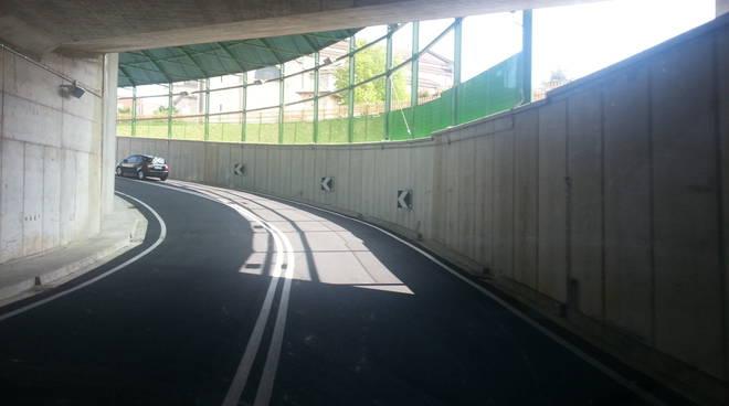 salita tunnel rovello pas livello