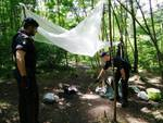 bivacco boschi parco lura
