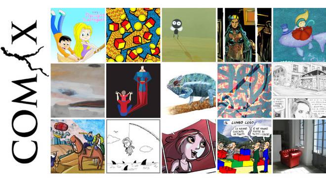 com-x mostra fumetti cover