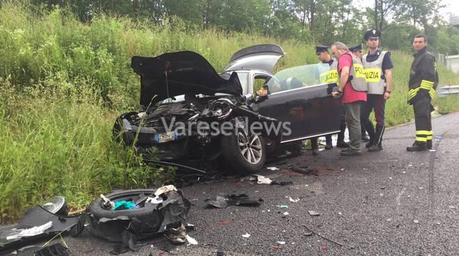 incidente pedemontana auto buonanno