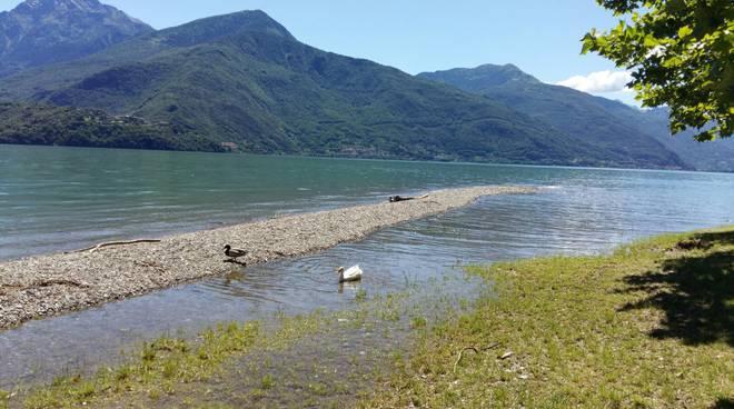 lago alto a dongo