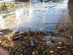 lago sporco dopo maltempo