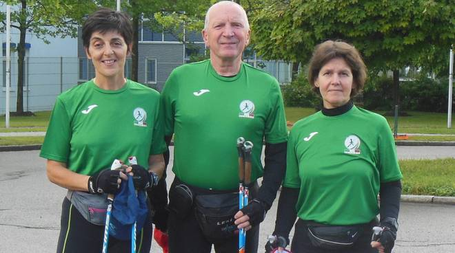 nordic walking como agli europei