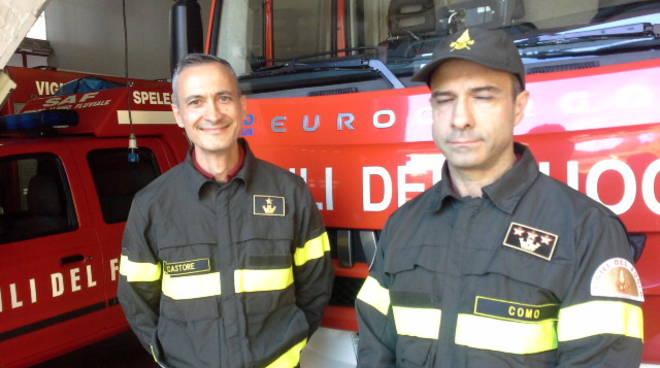 nuovo funzionario pompieri como