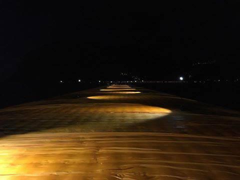 passerella di Christo lago di Iseo