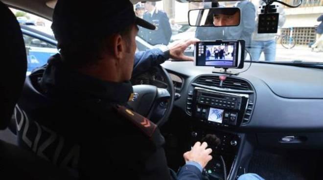 sistema mercurio auto polizia