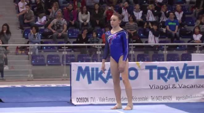 sofia busato europei ginnastica