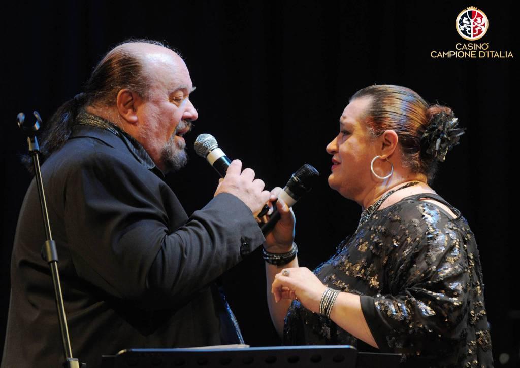 Piero Cotto e Beatrice Dalì  (foto Pozzoni)