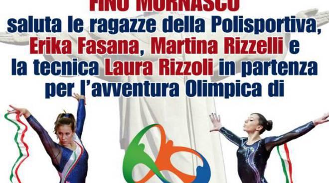 festa fino per ginnaste olimpioniche