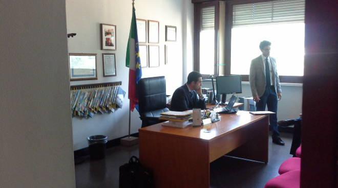 i protagonisti dell'udienza di oggi a Como