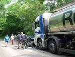 incidente auto - tir cermenate