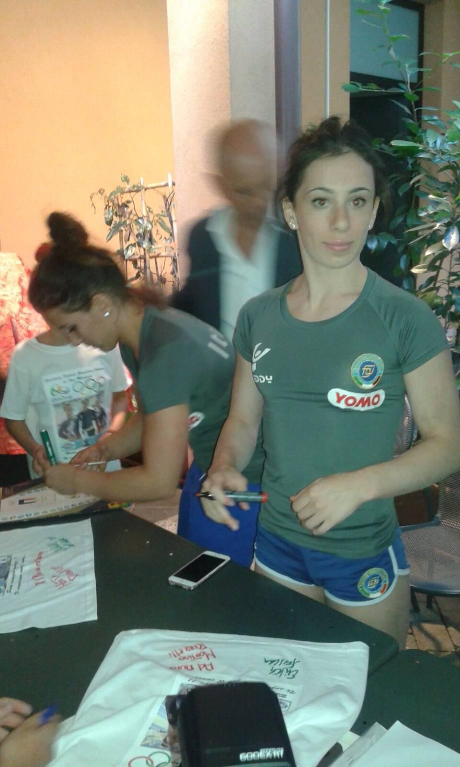 Le ginnaste di Fino a Rio, festa in piazza per loro