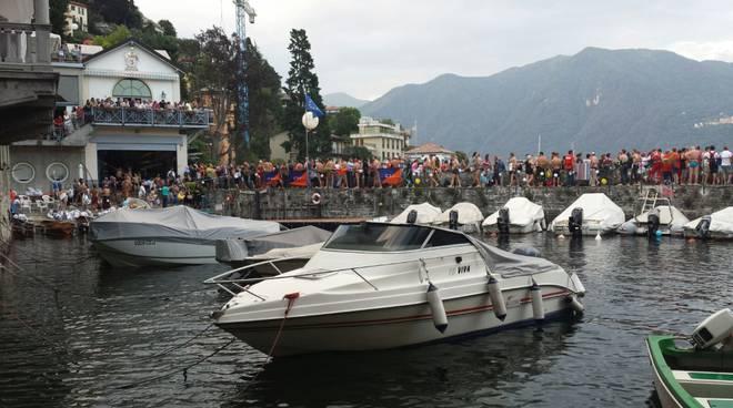 traversata a nuoto del lago di Como