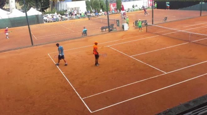challenger di como di tennis, la prima giornata
