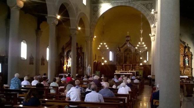 chiesa grandate messa dopo danni madonna