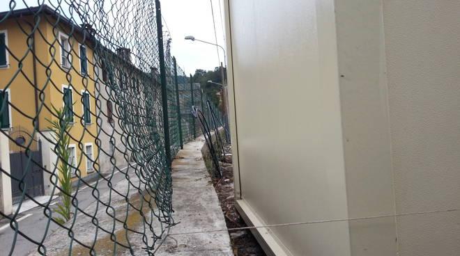 container a como per i migranti