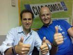 Danilo Bernasconi a CiaoComo dopo il record del mondo