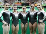 ginnastica artistica ragazze comasche a rio