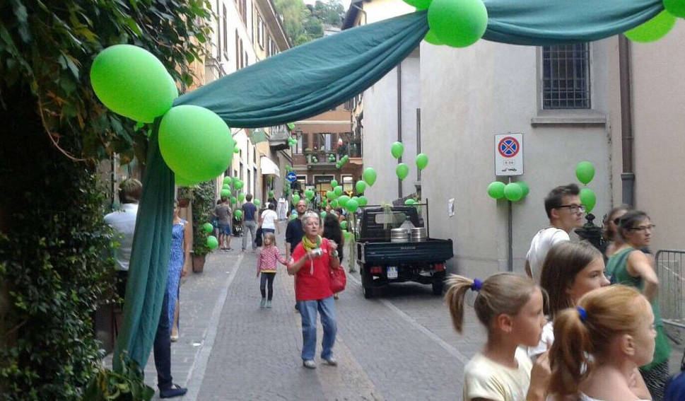 green night menaggio