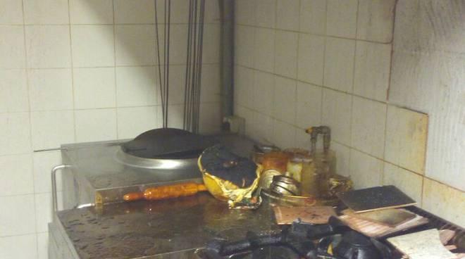 incendio ristorante indiano como