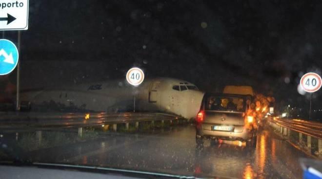 incidente aereo orio cargo