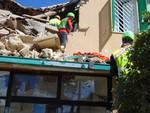 soccorso alpino lariano tra le macerie di Amatrice