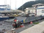 yacht club como dopo bufera barche